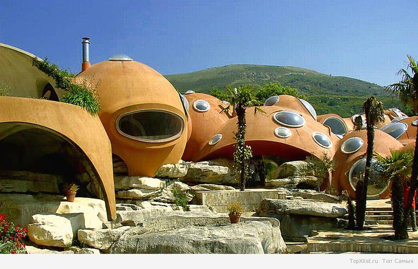 Самые необычные дома мира фото