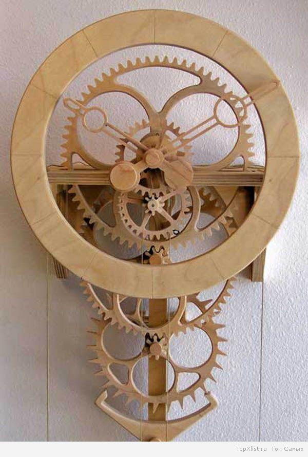 Механизмы часов своими руками