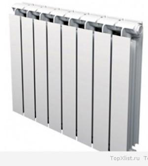алюминиевых радиаторах