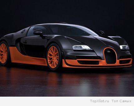 Автомобиль в мире bugatti veyron 16 4 super sport