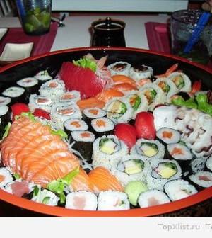 Самая полезная еда - Суши