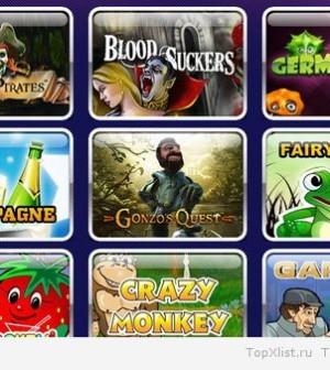 ТОП самых популярных азартных игр