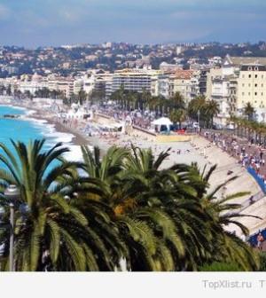 Туристическая жемчужина средиземноморья - Ницца
