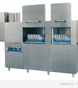 Современная машина для мытья посуды