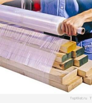 Производство стрейч пленки для упаковки товаров