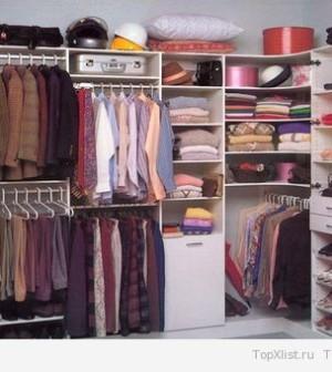Преимущества использования гардеробных комнат