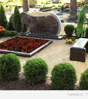 Как организовать уход за могилой