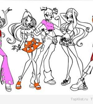 Игры для девочек раскраски