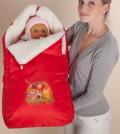 Правильный конверт для новорожденного