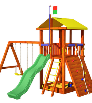 Детские игровые комплексы для улицы и помещений