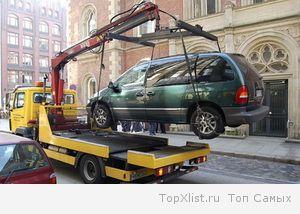 Эвакуация автотранспорта