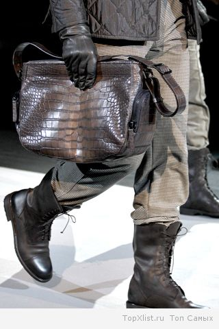 6 самых актуальных вариантов зимней мужской обуви