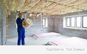 Звукоизоляция пола и потолка