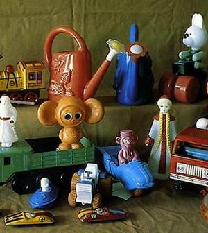 Игрушки из нашего прошлого столетия
