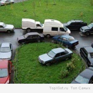 Неправильная парковка авто грозит штрафами