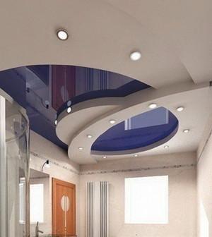 Топ популярных видов натяжных потолков