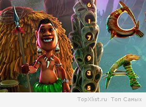 слот автомат Остров Тотемов (Totem Island) онлайн
