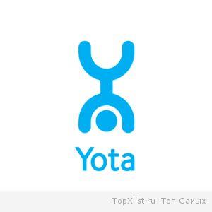 Зона покрытия yota