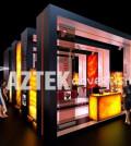 Рекламные стенды компании AZTEK