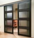 Раздвижные межкомнатные двери- особенности конструкции