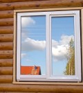 Установка пластиковых окон в доме из бруса и бревна