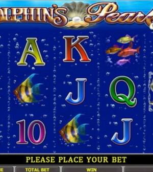 Лучший игровой автомат - Dolphins pearl