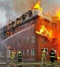 пожарами