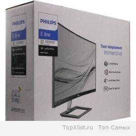Обзор технологичного изогнутого монитора Philips 322E1C